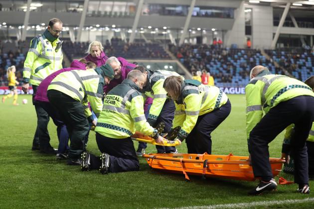 Manchester City v LSK Kvinner FK - UEFA Women's Champions League - Round of 16 - 2nd Leg - City Football Academy Stadium