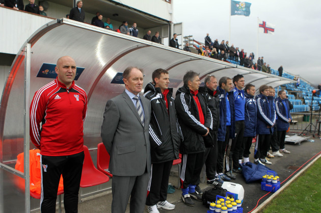 Soccer - UEFA Euro 2012 - Qualifying - Group C - Faroe Islands v Northern Ireland - Svangaskard