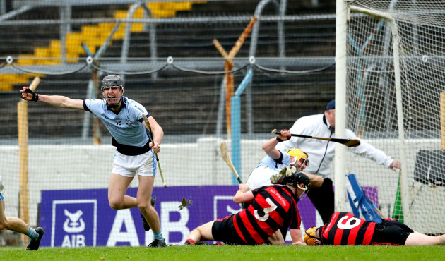 Conor Boylan celebrates after his side scored their second goal