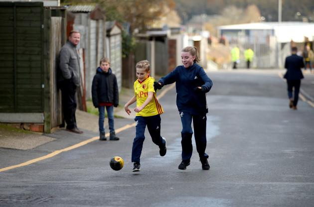 Watford v West Ham United - Premier League - Vicarage Road