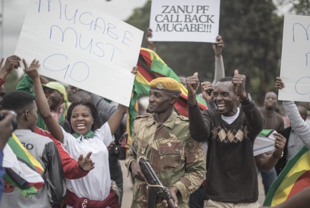 Zimbabwe: Mugabe Era Winds Down as Zimbabwe Ruling Party Backs His Ouster