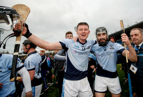 Kevin Downes and Cathal King celebrate