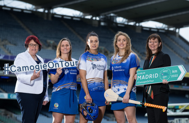 Catherine Neary, Aoife Murray, Rebecca Hennelly, Aisling Maher and Deirdre Ashe