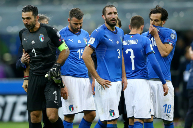 italy football team world cup qualifiers 2018