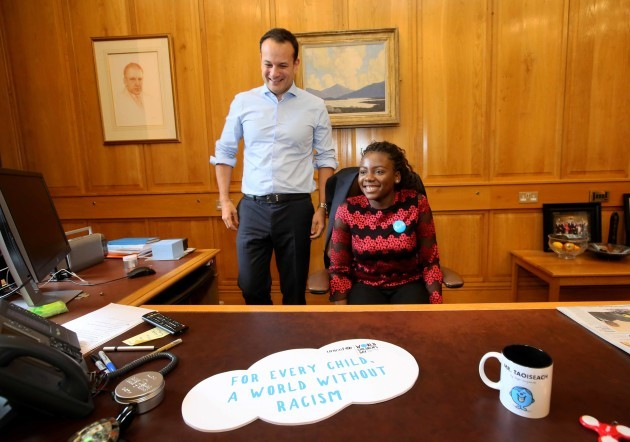 NO FEE 8 UNICEF Taoiseach Global #KidsTakeOver