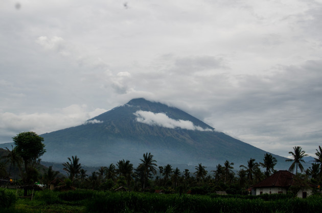 INDONESIA-BALI-MOUNT AGUNG VOLCANO-ERUPTION