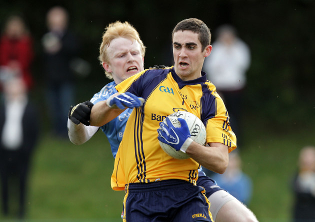 Diarmaid McNulty with James McCarthy