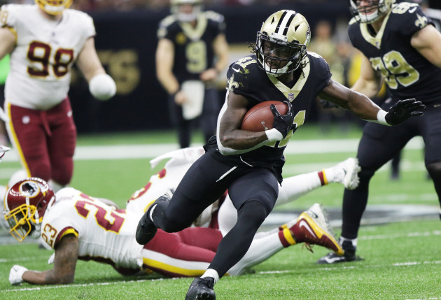 NFL NEW ORLEANS SAINTS BEAT WASHINGTON REDSKINS 34-31