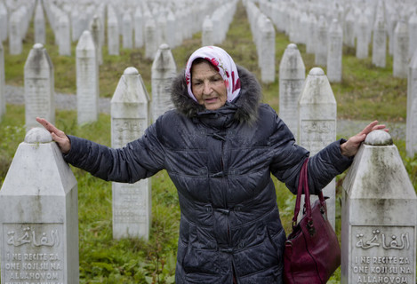 Bosnia Mladic Victims Photo Gallery