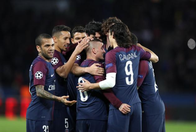 Paris Saint-Germain v Celtic - UEFA Champions League - Group B - Parc des Princes