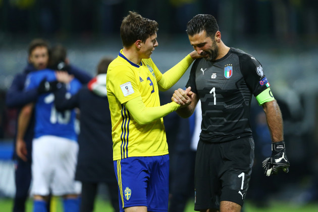 Italy: FIFA 2018 World Cup Qualifier Play-Off - Italy vs Sweden