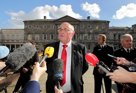 File Photo INDEPENDENT SENATOR GERARDCraughwell has said there must be an election for the position of president of Ireland – and that's why he is throwing his hat in the ring for the job
