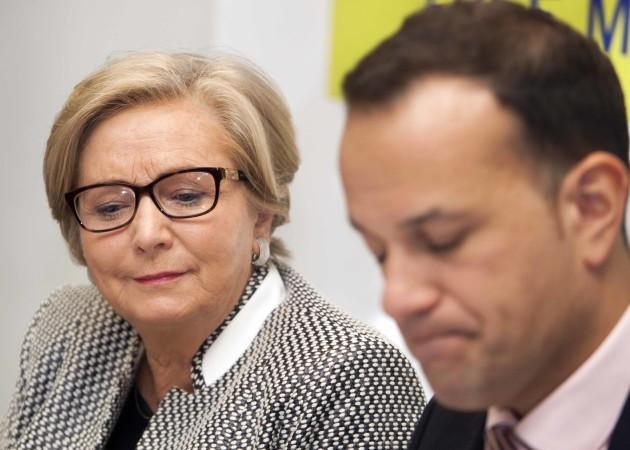 File Photo Taoiseach Leo Varadkar says he has confidence in Frances Fitzgerald. End.