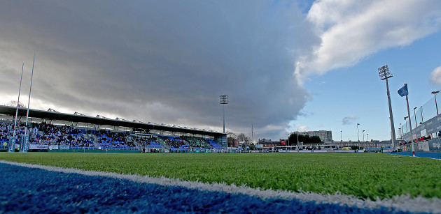 A general view of Donnybrook Stadium