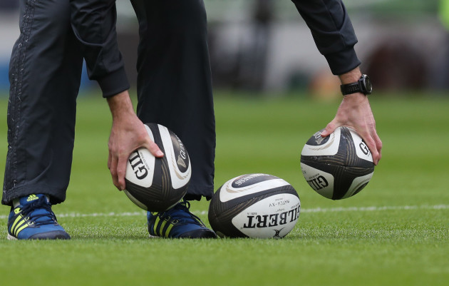 A general view of match balls