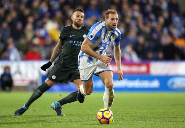 Huddersfield Town v Manchester City - Premier League - John Smith's Stadium