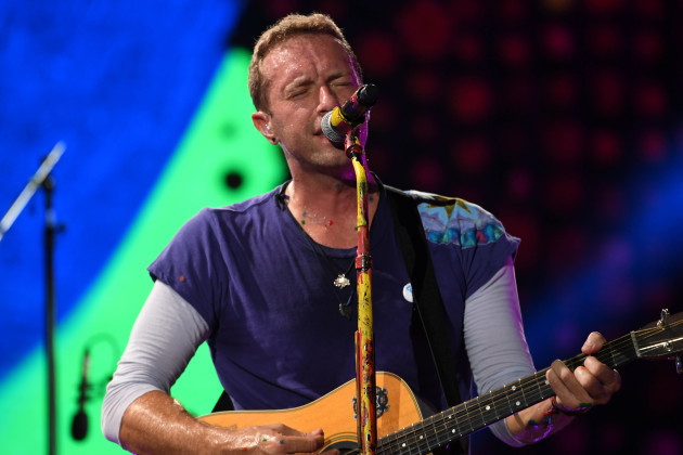 Entertainment: Coldplay