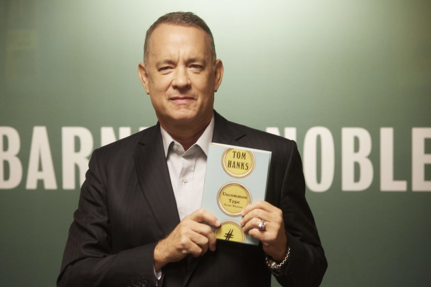 Tom Hanks Launches Fiction 'Uncommon Type'