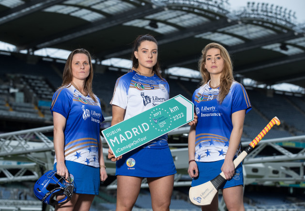Aoife Murray, Rebecca Hennelly and Aisling Maher