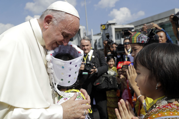 Myanmar Pope