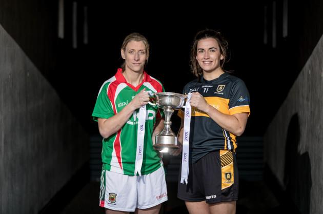 Cora Staunton and Brid O'Sullivan