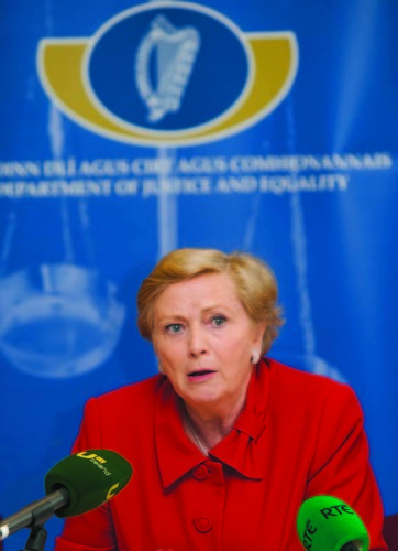 File Photo It is reported that Frances Fitzgerald Has Resigned. End.