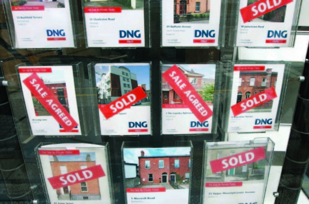 File Photo .House prices could rise by 20% in real terms over the next threeyears