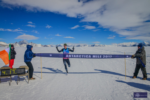 Mark Conlon/Antarctic Ice Marathon