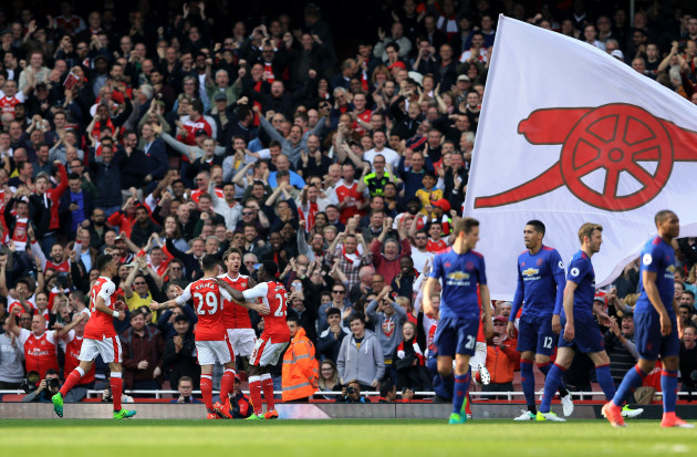 Arsenal v Manchester United - Premier League - Emirates Stadium