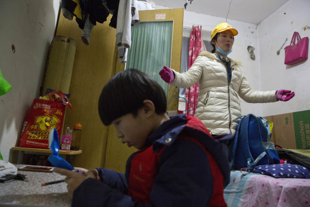 China Migrants Evicted