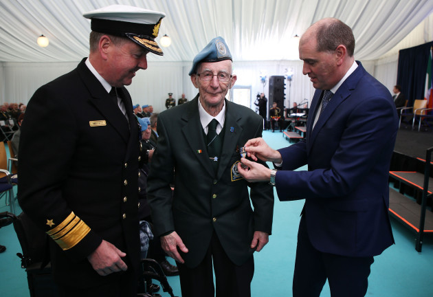 Presentation of An Bonn Jadotville Medals