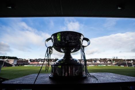 A view of the Tomas Callanan Cup