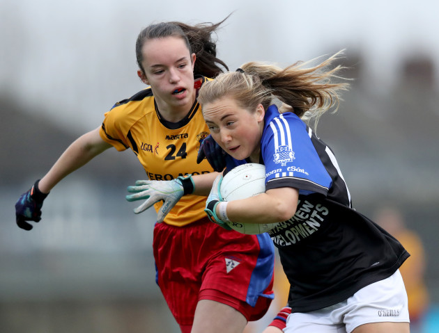 Katie Bermingham with Sadbh O'Leary