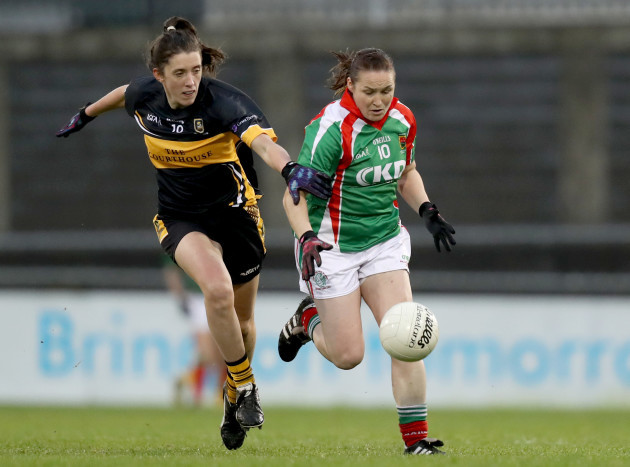 Michelle McGing with Ciara O'Sullivan