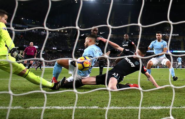 Manchester City v West Ham United - Premier League - Etihad Stadium
