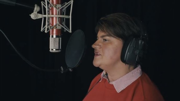 Mariah Carey All I Want For Christmas Mic Feed.Listen To Arlene Foster Belt Out A Classic Mariah Carey
