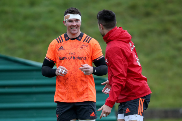 Peter O'Mahony and Conor Murray