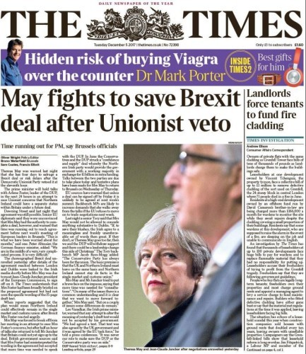 unionist may times