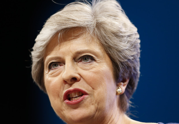 BRITAIN-MANCHESTER-CONSERVATIVE PARTY ANNUAL CONFERENCE-DAY 4