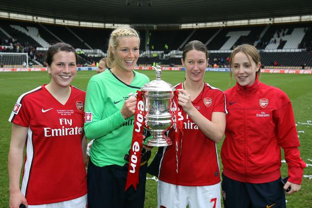 Soccer - Women's FA Cup - Final - Arsenal v Sunderland - Pride Park