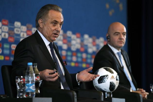 FIFA 2018 World Cup Draw - The Kremlin