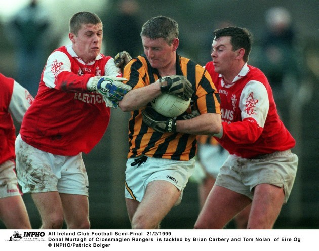 Donal Murtagh and Brian Carbery and Tom Nolan 21/2/1999