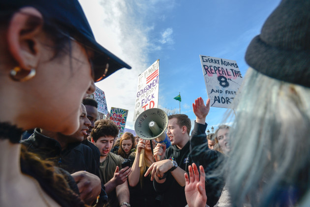 Ireland: Ireland: Thousands Strike 4 Repeal in Dublin