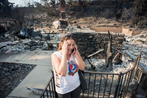 California Wildfires 2017: Thomas Fire