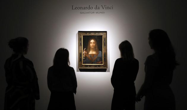 Leonardo Auction Abu Dhabi