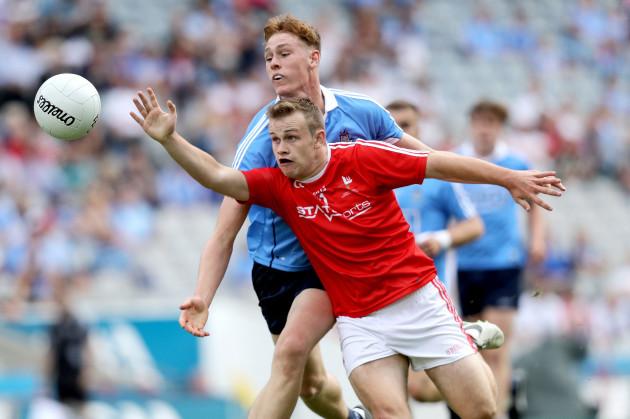 Peadar O'Cofaigh Byrne with Conor Gillespie