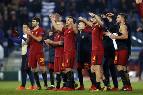 Italy: Roma vs Qarabag-UEFA Champions League