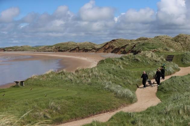 Doonbeg Golf Links sea defence plans
