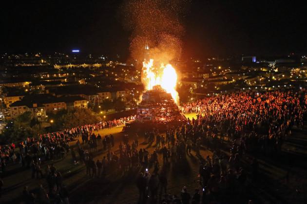 Londonderry bonfires