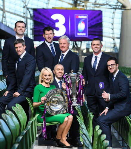 TV3 Announces Line-up for 2017 Six Nations Rugby Championship Coverage